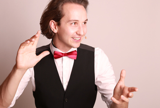 Magician Kilian Hein for business events